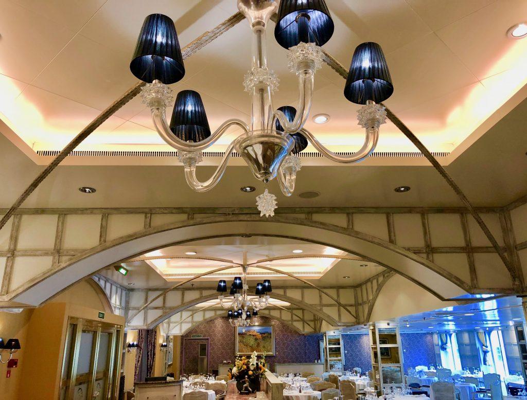 Interior of Jaques Restaurant onboard Oceania Marina