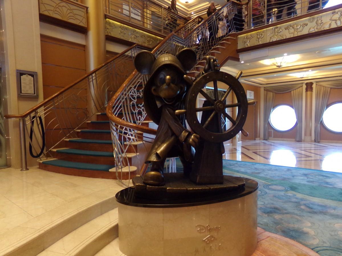 Bronze Mickey