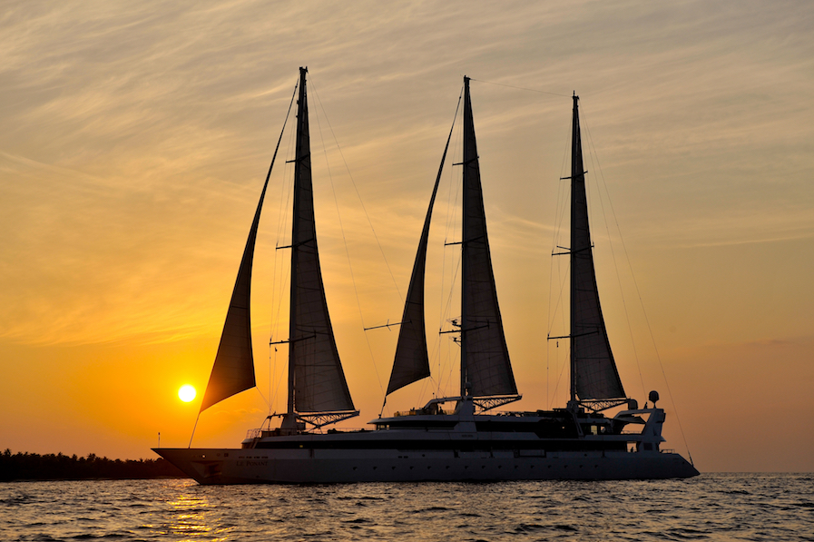 Ships and Champagne Ponant Luxury Yacht Cruises