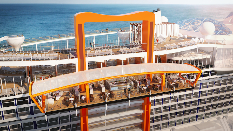 Celebrity Edge Luxury Cruise Blog Magic Carpet