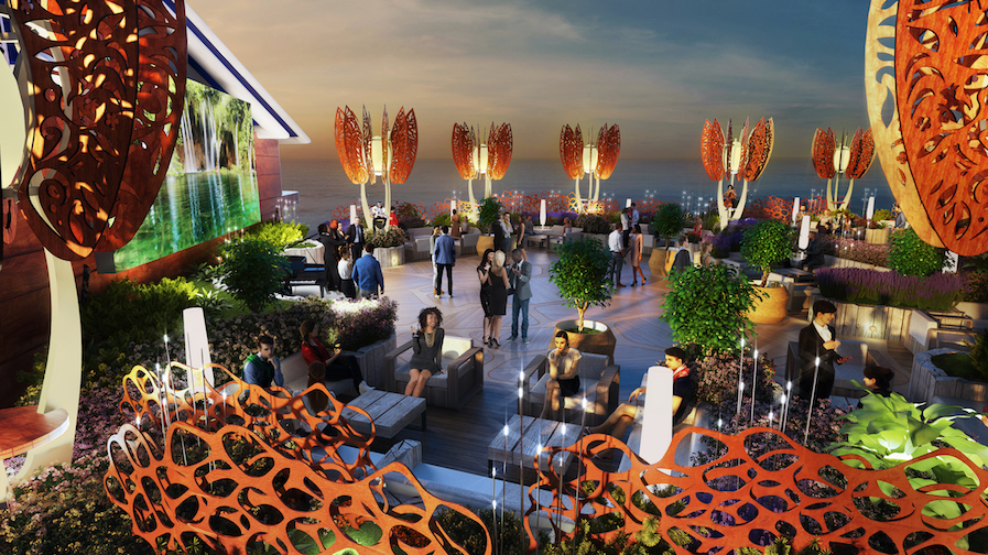 Celebrity Edge Rooftop Garden Luxury Cruise Blog