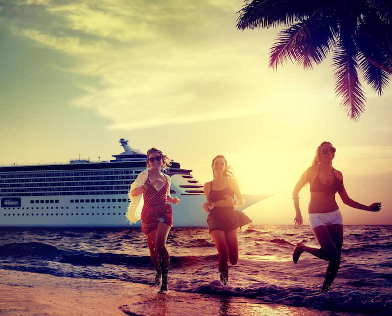Finding work on a cruise ship