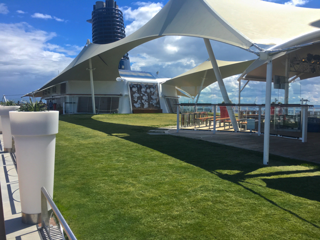 Taster Cruise onboard Celebrity Eclipse Grass Lawn