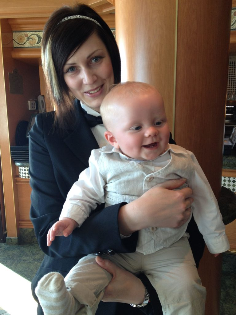 Work on a cruise ship