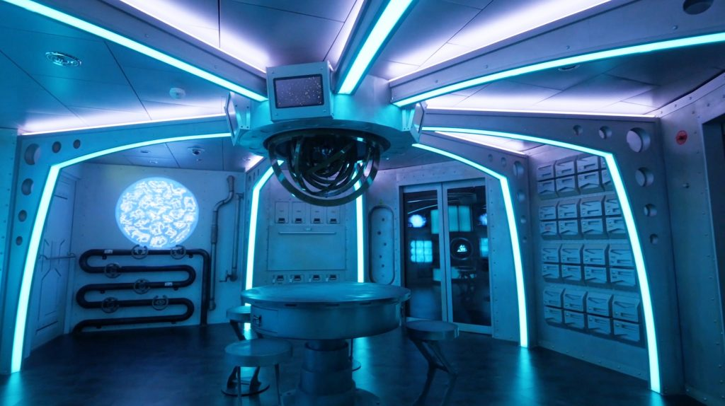 Independence of the Seas Refit Escape Room
