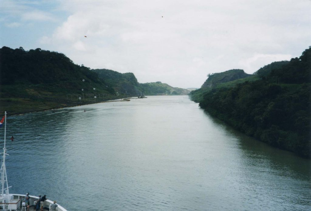 Cruise People Ships and Champagne Panama Canal