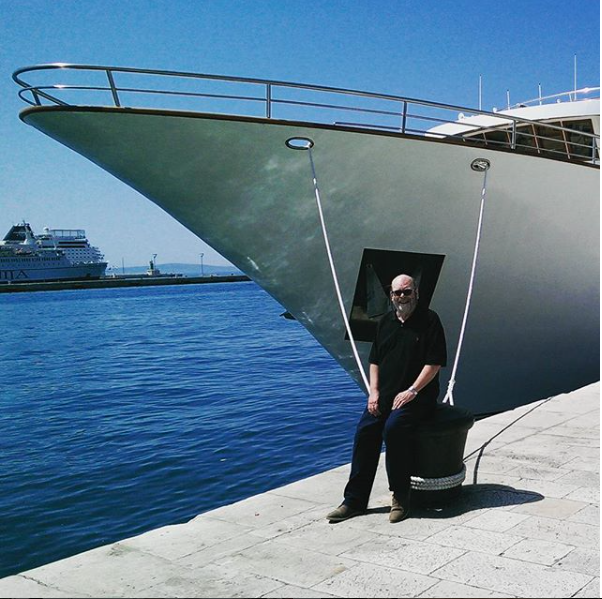 Captain Greybeard - John Honeywell Cruise People Ships and Champagne