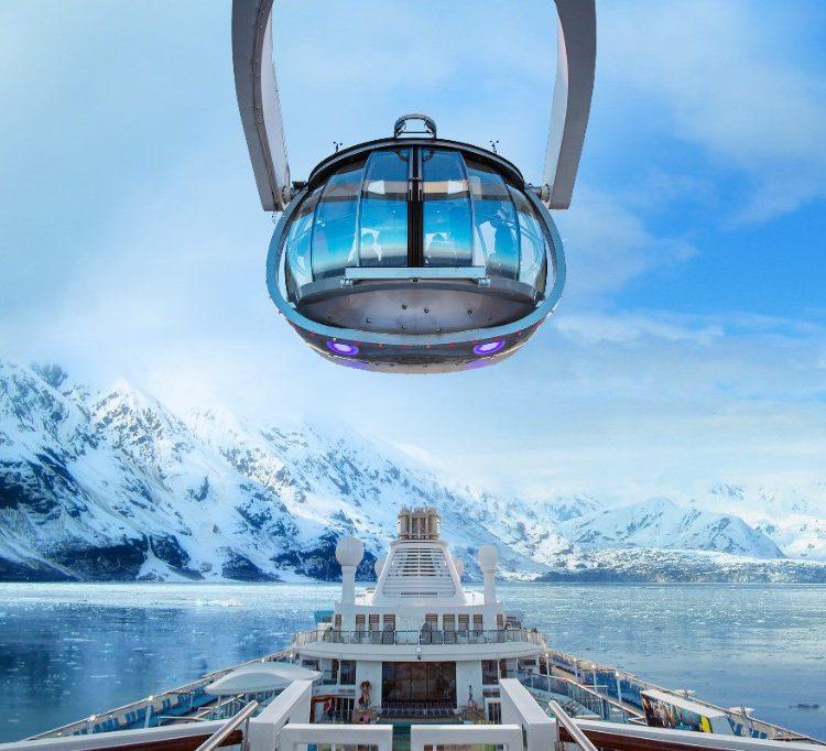 Royal Caribbean's North Star views of Alaska