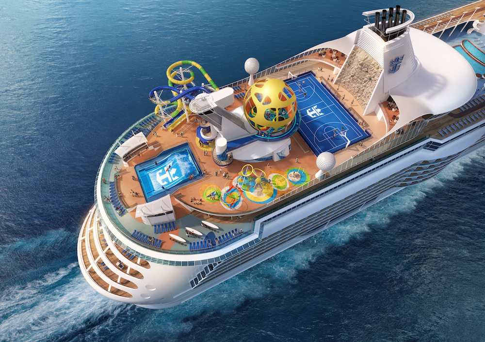 Royal Caribbean's Mariner of the Seas will also feature the SkyPad