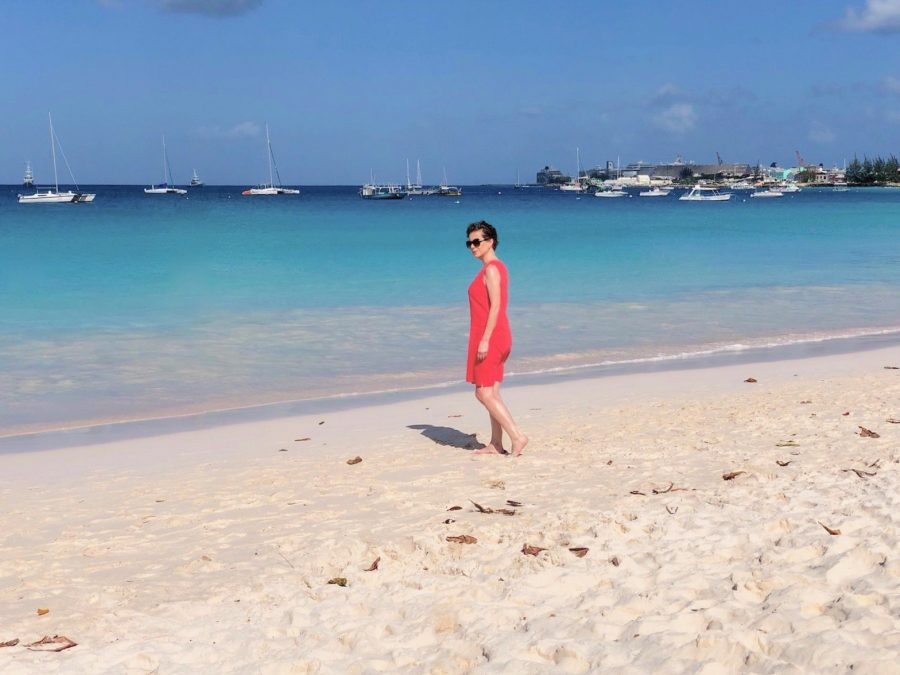 Brownes Beach Barbados Flavia Gray Ships and Champagne Cruise Blogger