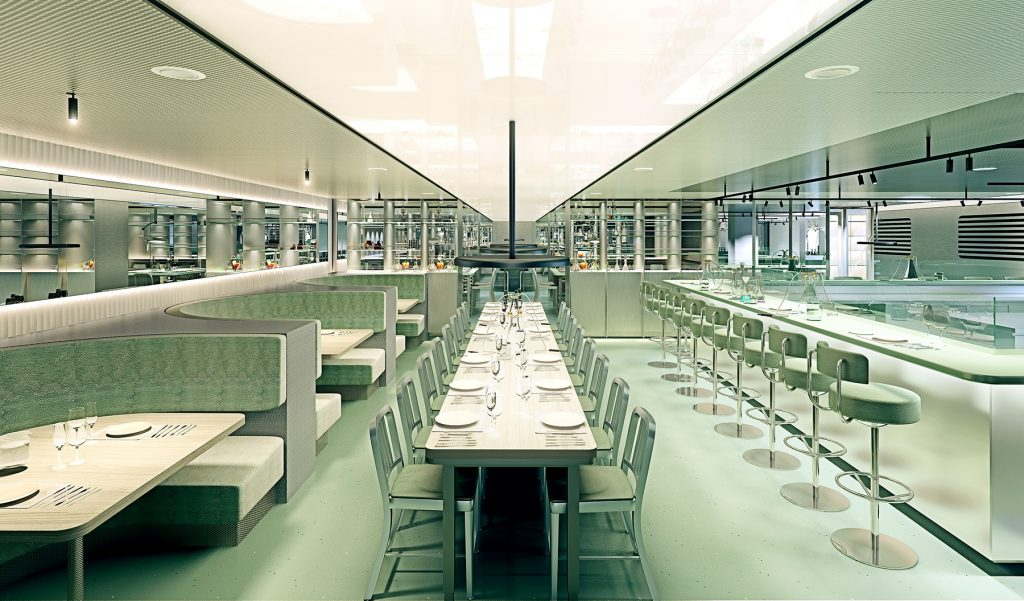 Virgin Voyages Test Kitchen Restaurant