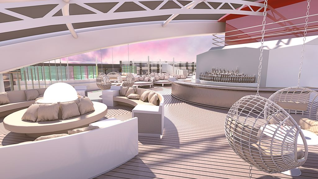 Virgin Voyages Richard's Rooftop, VIP Space