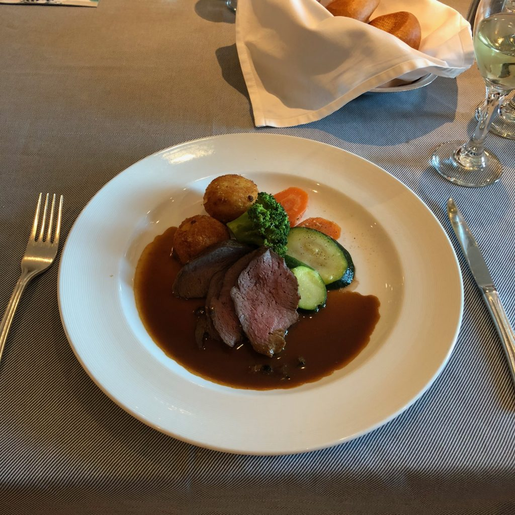 Chateaubriand, served onboard Royal Princess