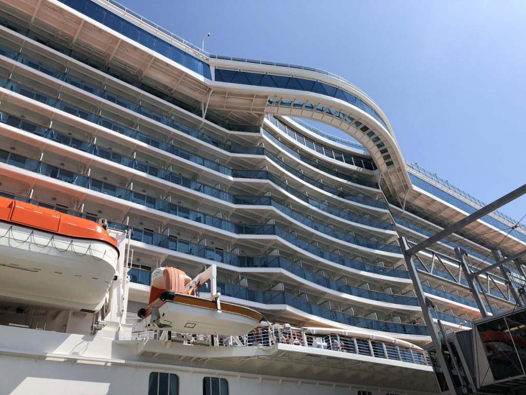 The Seawalk onboard Royal Princess