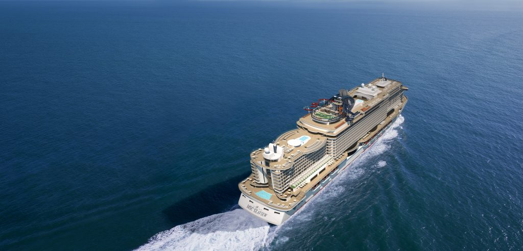MSC Seaside Sea Trials
