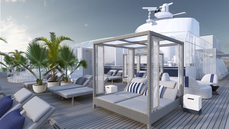CELEBRITY CRUISES - The Retreat Sundeck