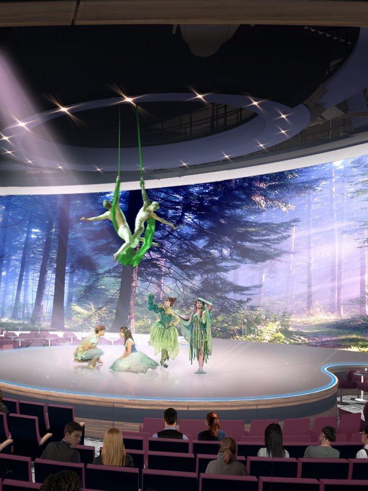 Photo Credit: Celebrity Cruises - Celebrity Edge The Theatre