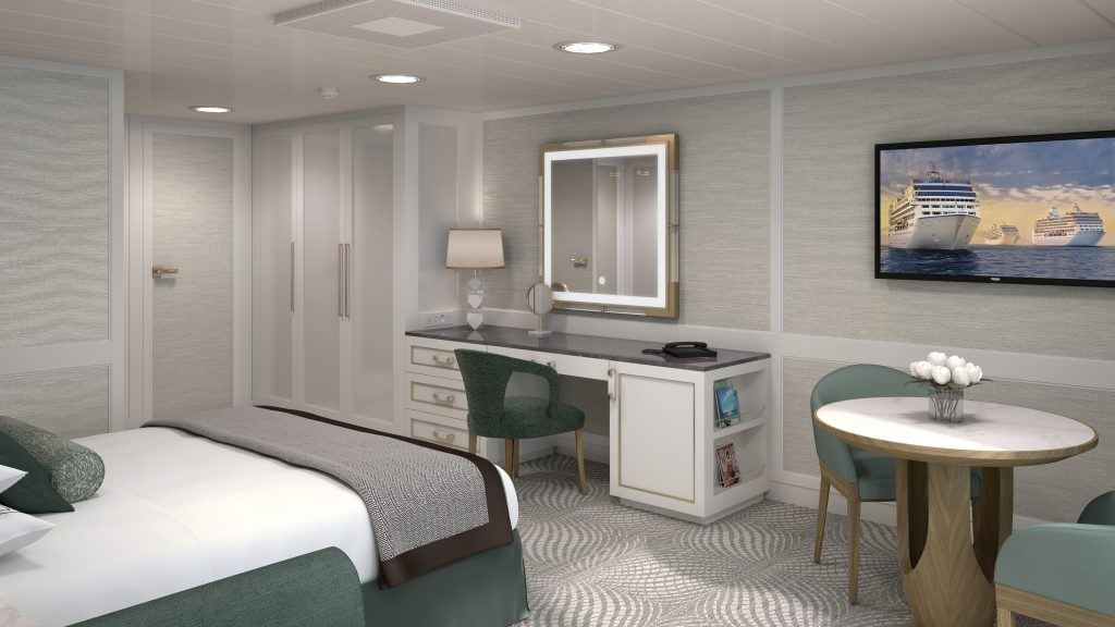 Photo Credit: Oceania Cruises - Insignia Penthouse Suite