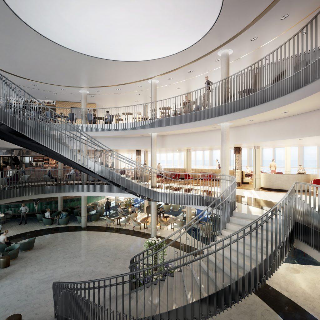 P&O Cruises - Iona's Atrium
