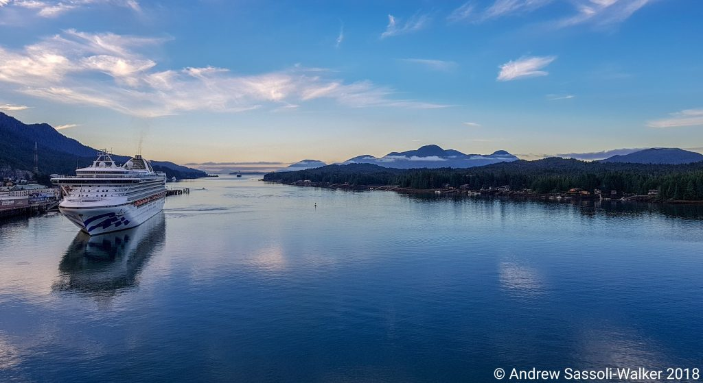 Cruising Alaska With The Sassoli Walkers Part 2 Ships