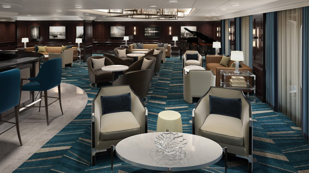 Photo Credit: Oceania Cruises - Insignia Martini Lounge