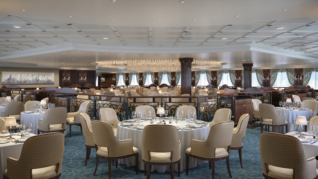 Photo Credit: Oceania Cruises - Insignia Grand Dining Room