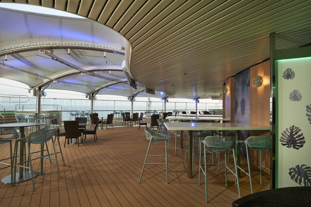 Photo Credit: Norwegian Cruise Line - Spice H20 deck onboard Norwegian Star