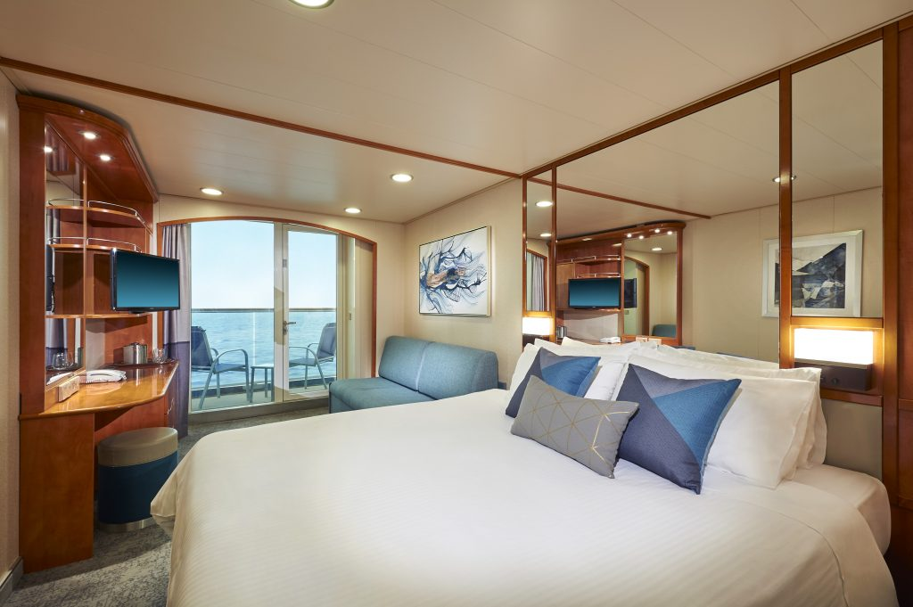 Photo Credit: Norwegian Cruise Line - Balcony Staterooms onboard Norwegian Sun