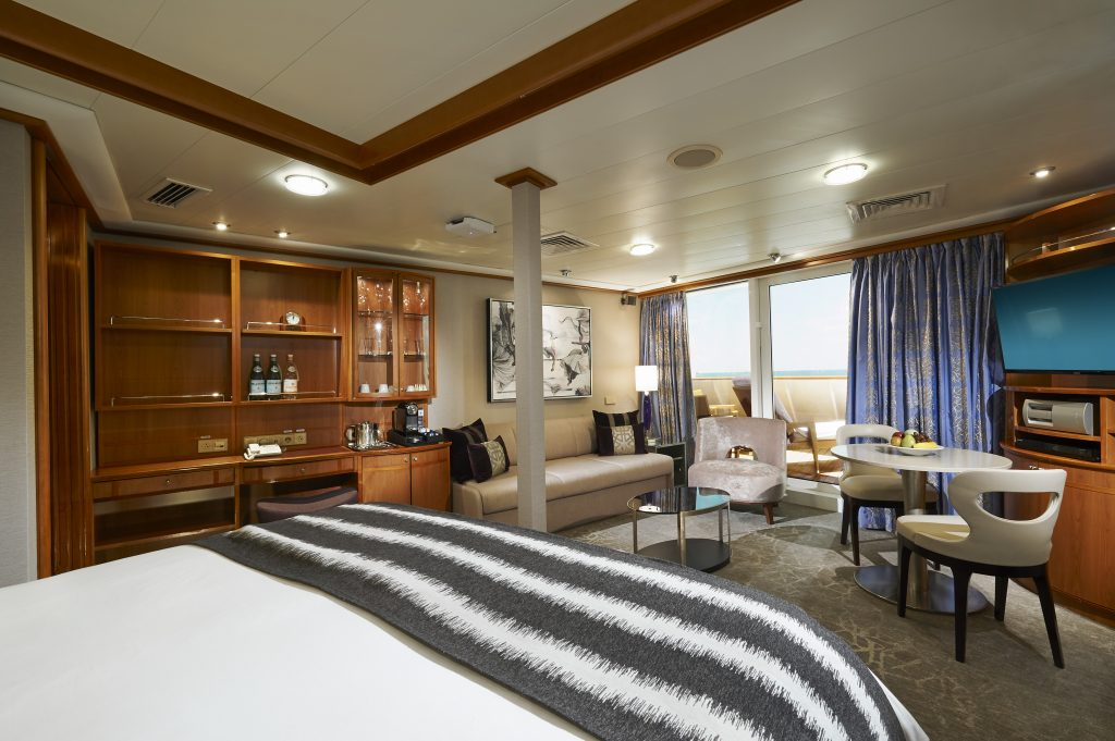 Photo Credit: Norwegian Cruise Line - Forward Facing Penthouse onboard Norwegian Sun