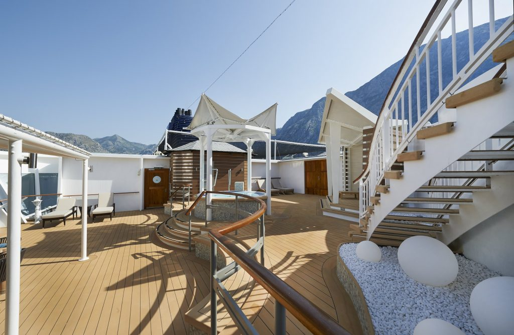 Photo Credit: Norwegian Cruise Line - 3 Bedroomed Garden Villa Sun Deck onboard Norwegian Star