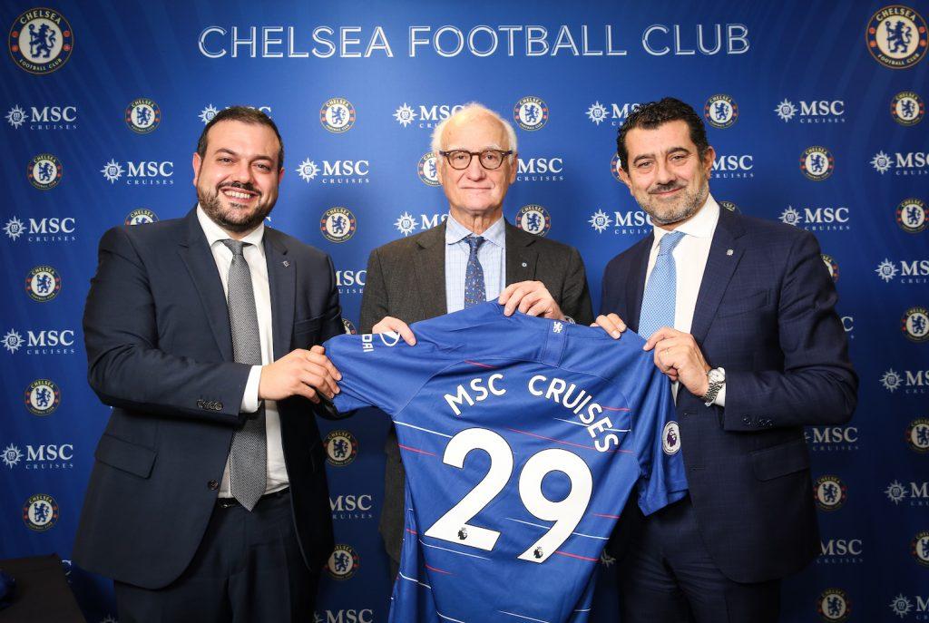 MSC Cruises Sponsor Chelsea Football Club