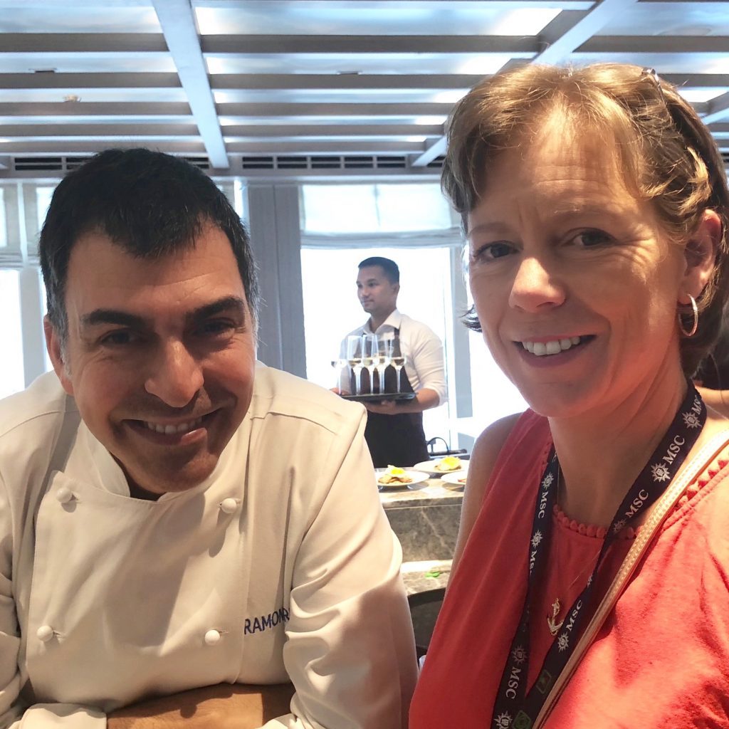 Michelin Starred Chef Ramon Freixa and Flavia Gray