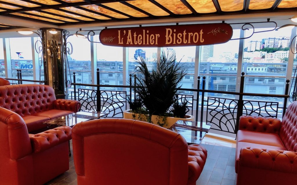 L'Atelier Bistrot onboard MSC Seaview will also be on MSC Bellissima