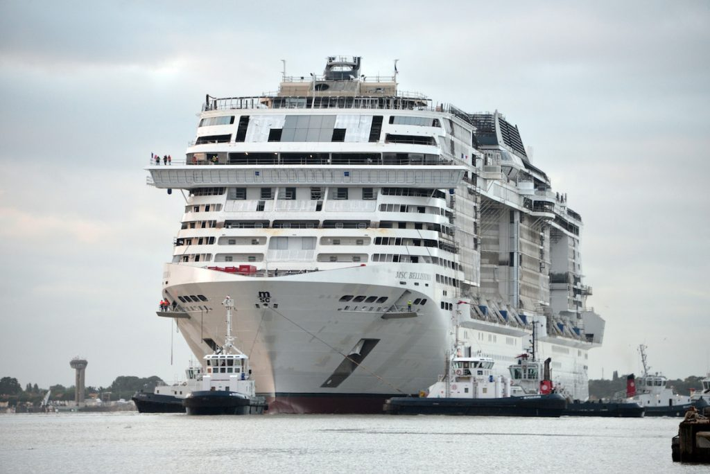 MSC Bellissima to be the largest cruise ship named in Southampton.