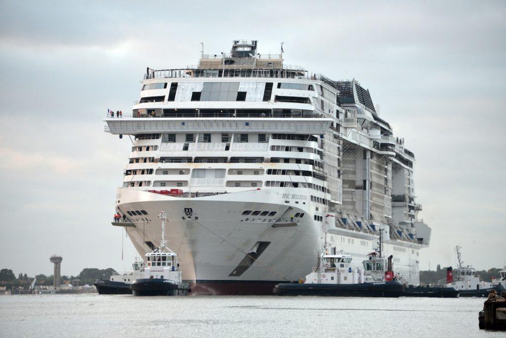 Most Beautiful Ship 100 Days from Southampton
