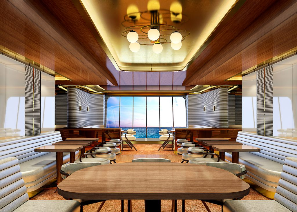 Virgin Voyages Steak and Seafood Restaurant Wake - The World On A Plate