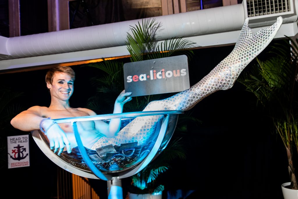 Virgin Voyages Sea Licious Event