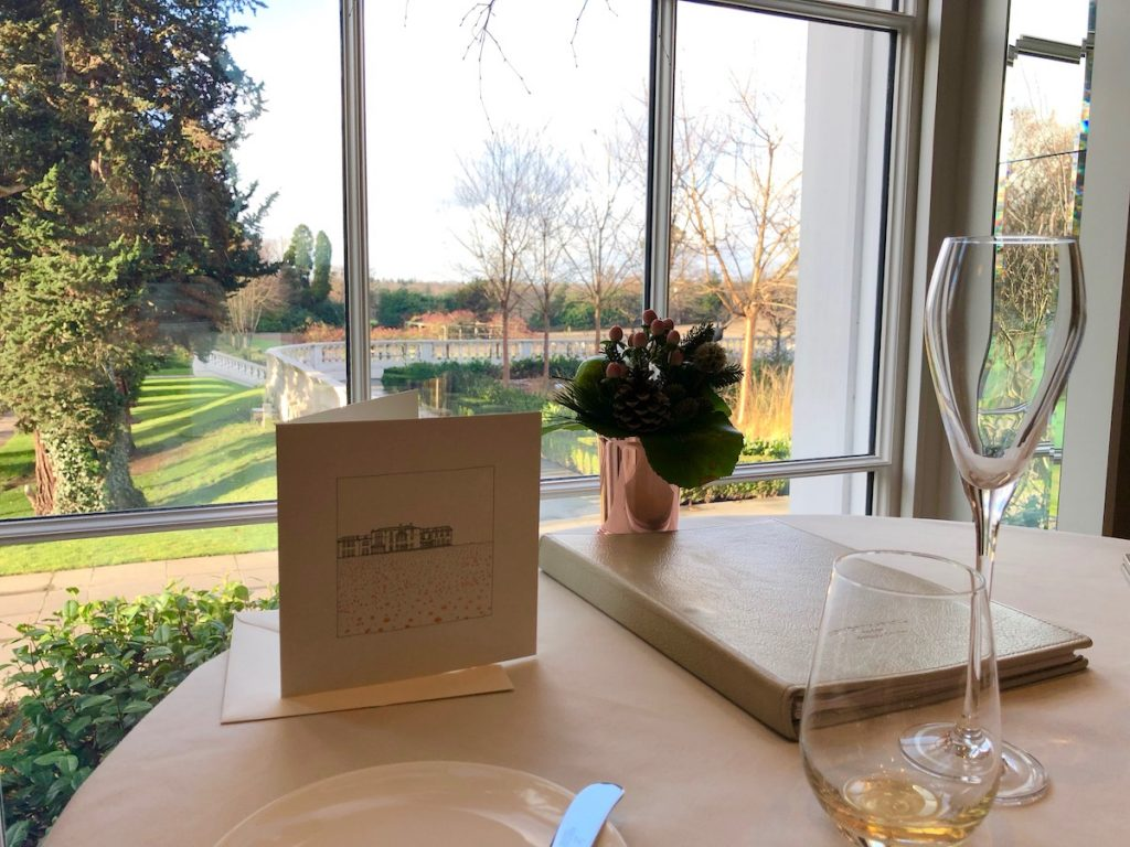 Champagne with a view of Coworth Park