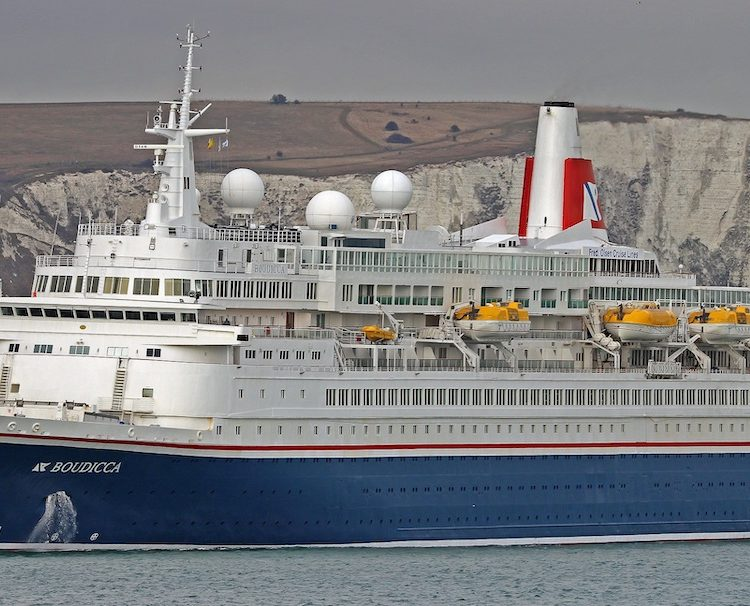 'Boudicca' sailing from Dover
