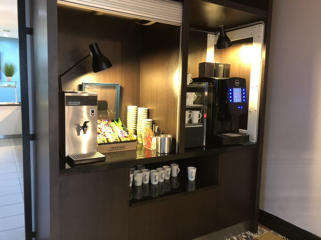 Coffee Station Hilton Hotel Nottingham