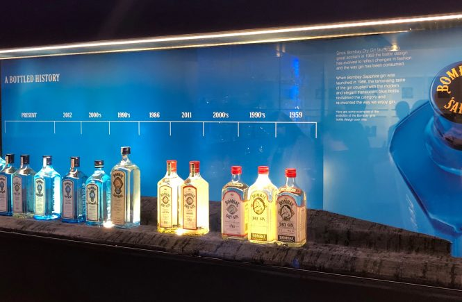 A History of Bombay Sapphire Bottles