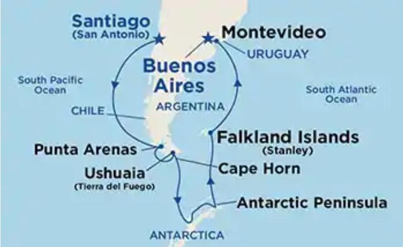 Princess Cruises South America & Antarctica 20/21