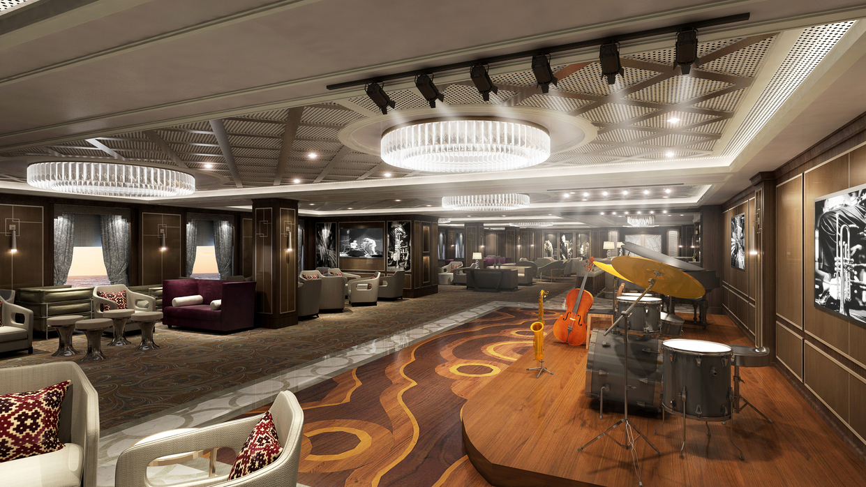 New Entertainment Lounge Take 5 on Sky Princess