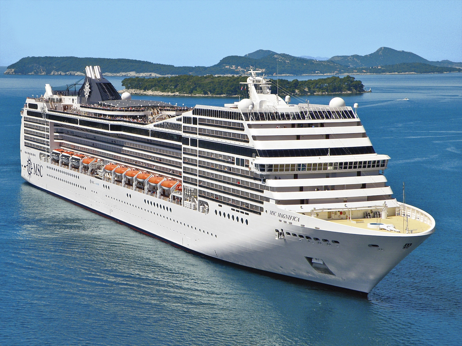 MSC Magnifica Restyled for UK Guests