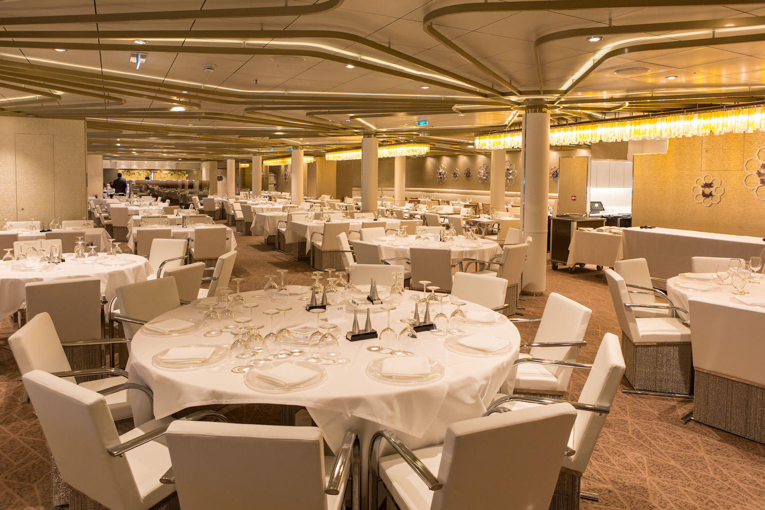 Anthem of the Seas Dining Room Chic