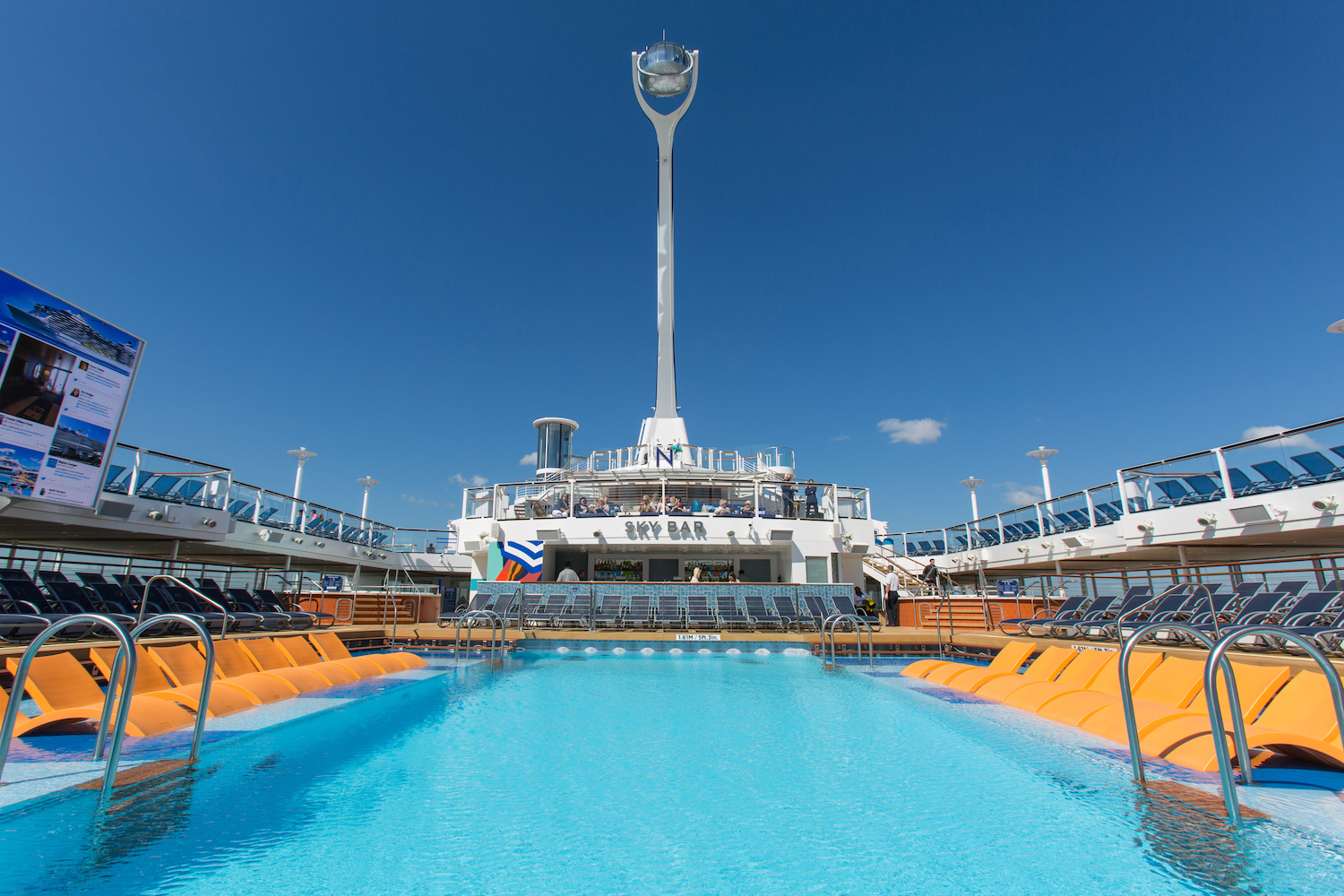The Pool Deck and North Star