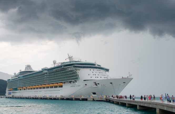 Will Cruise Ships Sail In Bad Weather